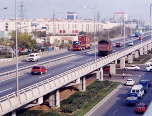 天津国防道立交桥